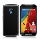GEL CASE SKIN TPU COVER FOR MOTOROLA MOTO G 2 2ND GEN + SCREEN PROTECTOR