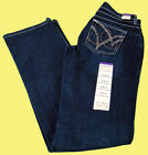 Womens Wrangler Q-Baby Booty Up WRQ25ST Mid Rise Boot Cut Jeans Any Size