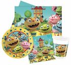 HENRY HUGGLEMONSTER (DISNEY) Birthday PARTY RANGE (Tableware & Balloons)