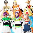Disney Toy Story Adult Fancy Dress Movie Characters Mens Ladies Costume Outfits