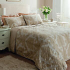 Catherine Lansfield Ombre Damask Natural Cream Duvet Quilt Cover Bedding Set
