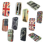 1PCS Vintage Pattern Hard Back Case Cover For Samsung Galaxy S III S3 I9300 Tide
