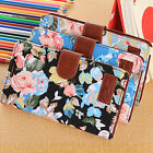 1PC Flip Floral Leather Cover Case For Samsung Galaxy S5 i9600 G900 Tide