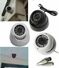 CCTV Security 24IR Dome Camera Outdoor Indoor IR Night Vision Colour Infrared
