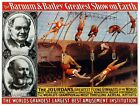 9134.Barnum % bailey circus.the jour dans.gymnasts.POSTER...