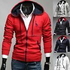 NEW Mens Slim Fit Sexy Top Designed Hoodies Jackets Coats-US HF