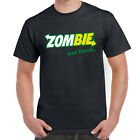 Mens Funny Sayings Slogans Novelty T Shirts-Zombie Eat Flesh tshirt