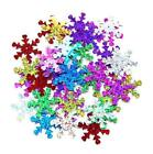 Sequins Snowflake 48mm 12mm Silver Red Green Dress Scrapbooking Wedding Craft #1