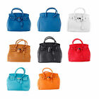 2014Lady's Celebrity Inspired PU Leather Handbags Women Messenger Bags Tote Bag