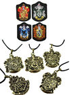Fashion Pendant Necklace Harry Porter Magic School And Four Branch School Badge