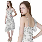 Clearance Sale Wholesale Bulk 9Donna Bella Chiffon Floral Embellish Summer Dress