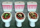 HALLOWEEN TOILET SEAT GRABBER COVER - SCARY FANCY DRESS HORROR PARTY DECORATION