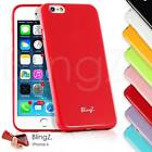 NEW JELLY SILICONE TPU RUBBER GEL CASE COVER FOR IPHONE 6 4.7""