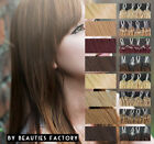 """Professional Micro Loop Ring Remy Human Hair Extensions 20"""" 8 Color"""