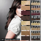 Professional Straight Micro Loop Ring Remy Human Hair Extensions 20 inch 8 Color