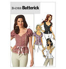 SEWING PATTERN Butterick B4988 Misses SEXY FITTED GOTH CLUB TOPS