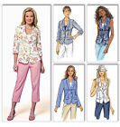 SEWING PATTERN Butterick B5647 Misses Fitted VESTS & FASHION JACKETS