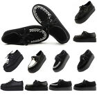 New Ladies Platform Lace Up Flats Creepers Goth Punk Casual Shoes Size UK 2- 9