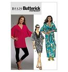 SEWING PATTERN Butterick B5329 Misses Pullover CAFTAN DRESSES & TUNIC TOP