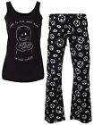 David & Goliath Dark Side Women's Black Pyjama Set