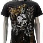 m334b Minute Mirth T-shirt Sz L Tattoo SPECIAL TECHNIC Skull Punk Ghost Fashion