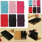 Slim Wallet Flip PU Leather Card Cover Case Stand For Sony Xperia E1 D2004 D2005