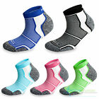 3 Pairs Cushioned Sports Running Ankle Socks Mens Ladies Womens Unisex Green NEW