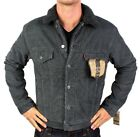 NEW LEVI'S MEN'S PREMIUM CLASSIC BUTTON UP FUR TRUCKER JACKET 705200017 SIZE S