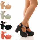 LADIES WOMENS LOW WEDGES DEMI PARTY PLATFORMS FAUX SUEDE EVENING SHOES SIZE
