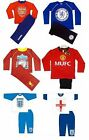 Official Football Club - Boys Pyjamas (Long){Sizes from 12 Months-12 Years}