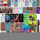 For Samsung Galaxy S5 G900 I9600 Art Design TPU SILICONE Case Phone Cover + Pen