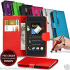 Amazon Fire Phone PU Leather Phone Book Wallet Case Skin Cover+Pen+SP
