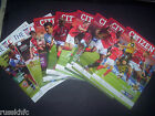 2014/15 - YORK HOME PROGRAMMES CHOOSE FROM
