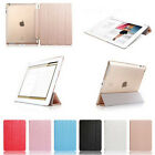 Colorful Slim Magnetic Leather Smart Cover With Hard Back Case For iPad Mini