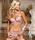 AXAMI SET Push-up BH +String V-4231 Lolita Dessous Cup 65 70 75 80 85 ABCDE