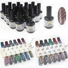 Nail Art Magnetic UV Gel Soak off Gel Polish Cat Eye 15ml Use With Magnetic Wand
