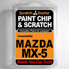 MAZDA MX-5 TOUCH UP PAINT Stone Chip Scratch Car Repair Kit 2000-2005