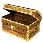 12'' Large Treasure Chest Box - Cardboard Box - Pirate Theme Party - Choose Qty