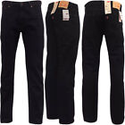 Mens Levi Jeans 504 Straight Denim Fit 'Inked' 30 32 34 36 38
