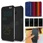 Ultra Slim Smart DOT MATRIX VIEW Flip Case Cover for HTC One 2 M8 2014