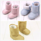 Cute Non-slip Baby Infant Toddler Boy Girl Soft Soled Shoes Winter Warm Boots UK