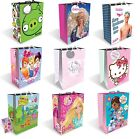 Medium Character GIFT BAGS - Kids Birthday Party Gift/Present (GEMMA)