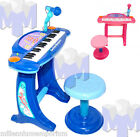 Kids Childrens Large Electric Keyboard Organ Piano & Mic Recording Musical Toy