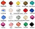 48 Authentic Swarovski Xilion Bicone Crystal Beads 3mm #5328-U Pick Color