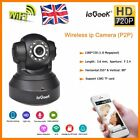 TENVIS Wireless WIFI IP Camera IR CCTV Security Monitor Pan/Tilt P2P 720P HD UK