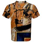 Egypt Osiris Book of the Dead Sublimated Sublimation T-Shirt S,M,L,XL,2XL,3XL