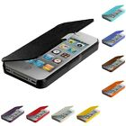Color Wallet Hard Case Folio Pouch Front Leather Cover for iPhone 4 4G 4S