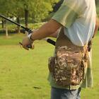 Outdoor Sports Lure Bag Fishing Rod Tackle Bag Waist Pack Camping Hiking Durable