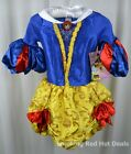 Disguise Disney Princess Snow White Couture Costume Girls Dress Up Sz S OR M New