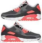 NIKE AIR MAX 90 JCRD MENs MESH M SHOE RUNNING BLACK GREY INFRARED WHITE SZ